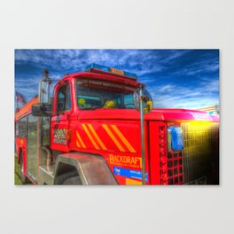 Backdraft Fire Truck Canvas Print