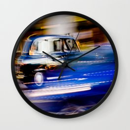 Taxi Light Wall Clock