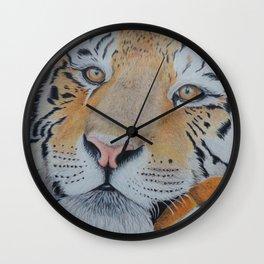 Dreamy Tiger Wall Clock
