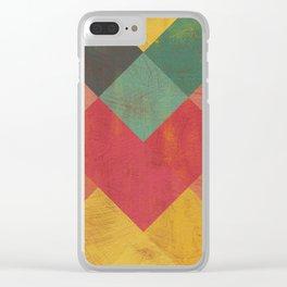 Aztec Vintage Pattern 11 Clear iPhone Case