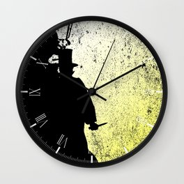 Jack The Ripper Grunge Wall Clock