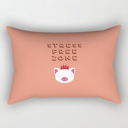 Stress Free Zone Rectangular Pillow