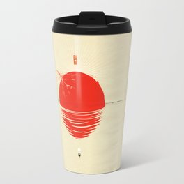 "Japan relief poster/all proceeds will go to ""Peace Winds"" Travel Mug"