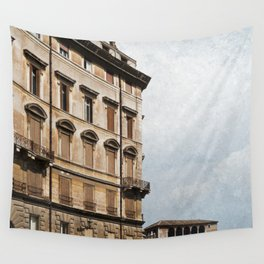 Living in Rome Wall Tapestry