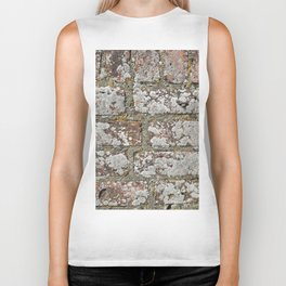 old wall bricks Biker Tank
