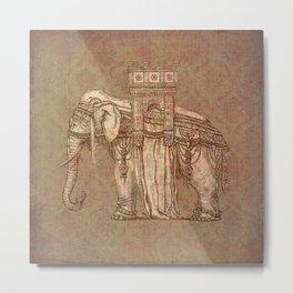 Elephant Bastille Metal Print