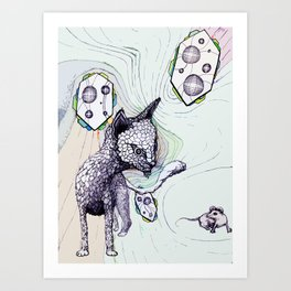 Catenaccio Art Print