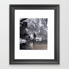 Cave Drawing I Framed Art Print
