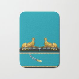 Panther Unchained Bath Mat