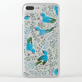 Birds in Spring Clear iPhone Case