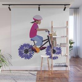 Summer Bike Ride Wall Mural