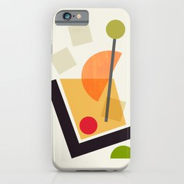 Cocktail III Old Fashioned iPhone Case