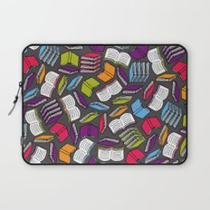 So Many Colorful Books... Laptop Sleeve