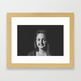 Waiting. Framed Art Print