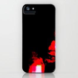 sierra glitch iPhone Case