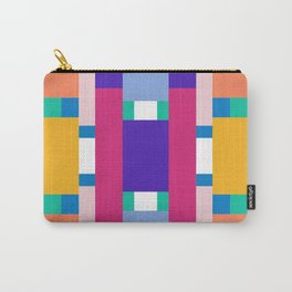 POP RECTANGLES Carry-All Pouch