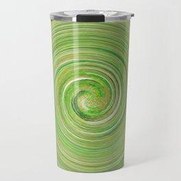 Green forest waves Travel Mug