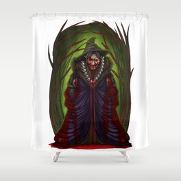 Halloween Horror Witch Scary Monster Costume Gift Shower Curtain