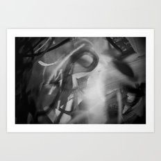 Specters of Schizophrenia Art Print