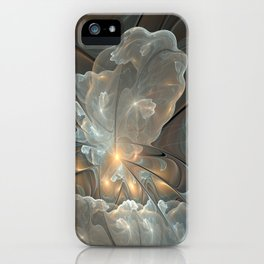 I had a dream, Abstract Fractal Art iPhone Case