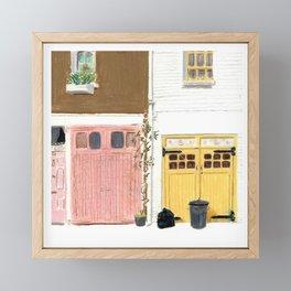 EBURY MEWS Framed Mini Art Print