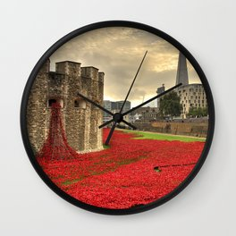 Blood Swept Lands Wall Clock