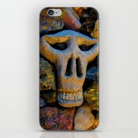 minerals iPhone & iPod Skins featuring skull and minerals by giol's