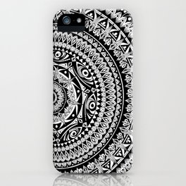 Kokua Mandala Illustration iPhone Case