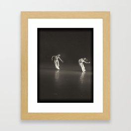 le Duo  Framed Art Print