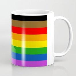 LGBTQ Pride Flag (More Colors More Pride) Coffee Mug