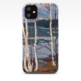 Tom Thomson - Spring in Algonquin Park - Canada, Canadian Oil Painting - Group of Seven iPhone Case