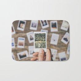 Holding photo prints Bath Mat