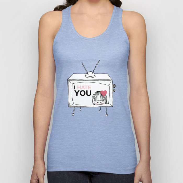I Hate You / Television Unisex Tank Top