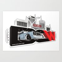 The Master H - Hakosuka Skyline KPGC10 by DCW Classic Art Print
