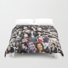 Harry Styles - Collage Duvet Cover