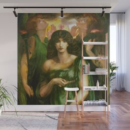 "Dante Gabriel Rossetti ""Astarte Syriaca"" Wall Mural"