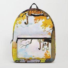 calvin hobbes all Backpack