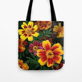 Marigold Madness Tote Bag
