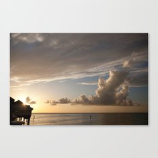 Clearwater Sunset Canvas Print