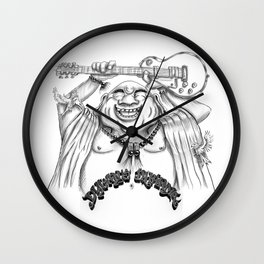 DylansDharma Buddha Roots Wall Clock