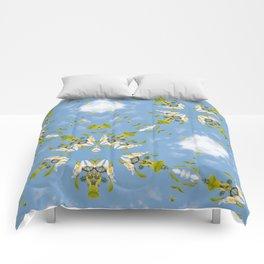 Franklinia Alatmaha and Sky Comforters