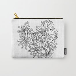 Boss Lady Adult Coloring Design Carry-All Pouch