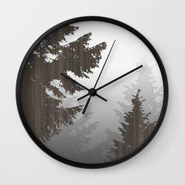 Norway Black Wall Clock