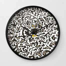 Hidden owl Wall Clock