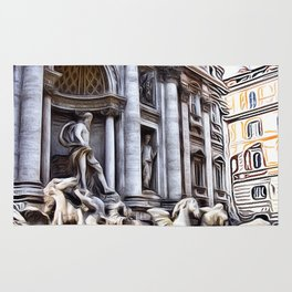 Patterns of Places - Rome Rug