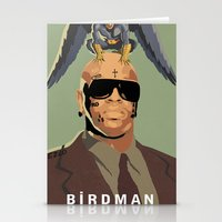 birdman Stationery Cards featuring Birdman by EZCO