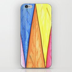 Abstract Triangles iPhone & iPod Skin