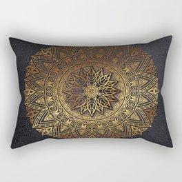 -A27- Original Heritage Moroccan Islamic Geometric Artwork. Rectangular Pillow