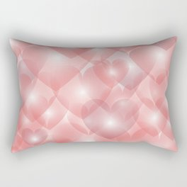 Hearts Aglow Rectangular Pillow