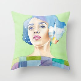 Mary Jackson Hidden Figures Throw Pillow